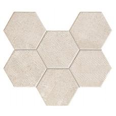 TUBADZIN SFUMATO HEX мозаика  289X221 мм