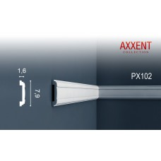 молдинг гладкий orac axxent px102