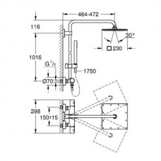 Душевая система Grohe EUPHORIA XXL 26187000