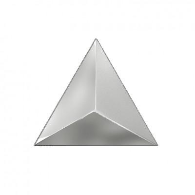 Декор 15*17 Level Silver Laser Glossy
